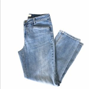 J Jill Jeans Cropped 4 Light Wash